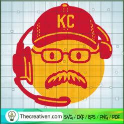 Andy Reid SVG, Coach SVG, Kansas City Coach SVG