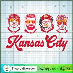 Kansas City Team SVG, Coach And Player SVG, NFL Team SVG