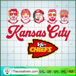 Kansas City Coach And Players SVG, Kansas City Chiefs SVG, NFL Team SVG