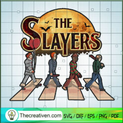 The Slayers Walking SVG, Horror Characters SVG, Halloween Horror SVG