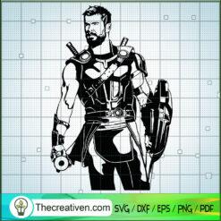 Thor SVG, Thor Ragnarok SVG, Avengers SVG