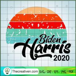 Vintage Biden Harris 2020 SVG, Biden Harris SVG, US Vice President SVG
