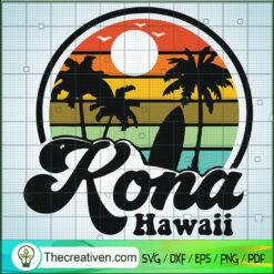 Rona Hawaii SVG, Retro Hawaii SVG, Summer Times SVG