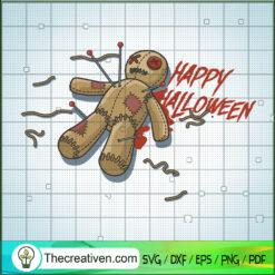 Happy Halloween SVG, Scary Teddy Bear SVG, Halloween SVG