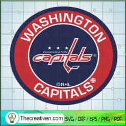 Washington Capitals SVG, NHL Capitals SVG, Hockey Team SVG