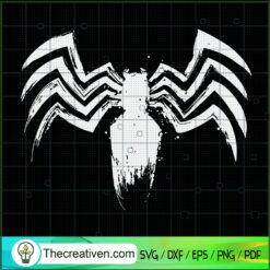 Spider Vintage SVG, Spider SVG, Scary Spider SVG