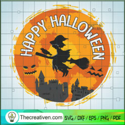 I'm His Witch SVG, Witch Hat SVG, Halloween SVG