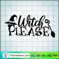 Horror Witch SVG, Witch SVG, Halloween SVG