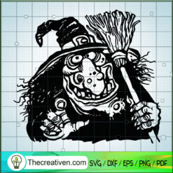Witches Be Crazy SVG, Witch Hat SVG, Halloween SVG