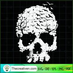 Skull Witches SVG, Skull SVG, Halloween SVG