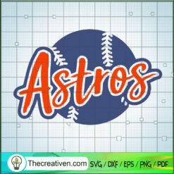 Astros Baseball SVG, MLB SVG, Astros Logo SVG