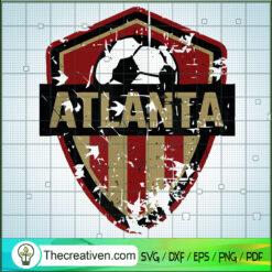 Atlanta Logo SVG, Soccer SVG, Atlanta United SVG