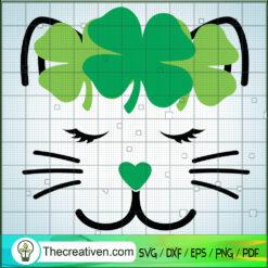 Cat St.Patrick's Day SVG, Cat SVG, Pet SVG, St.Patrick's Day SVG