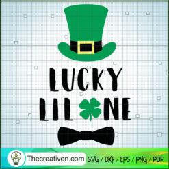 Lucky Lil One SVG, Little Boy SVG, Kids Saint Patricks Day SVG